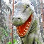 Dino im deutschen Wald