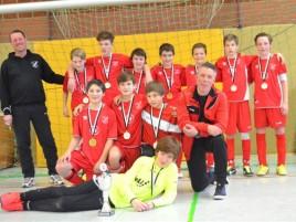 D-Jugend des FC Overberge