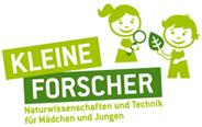 """Logo der Stiftung """"Haus der kleinen Forscher"""""""