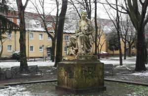 Kurt-Schumacher-Platz in der Alten Kolonie