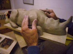 Dietrich Worbs bietet einen Keramik-Workshop an.