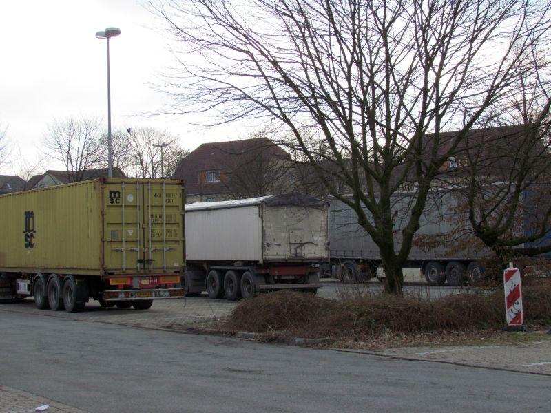 Parkplatz am Wertstoffhof