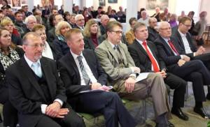 Der SPD-Stadtverband hatte am Sonntag zum Frhlingsempfang auf die Ökologiestation eingeladen