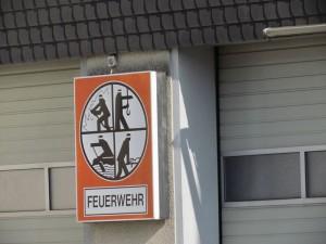 Das Feuerwehrgerätehaus Rünthe wird Ende dieses Jahres abgerissen. An gleicher stelle entstecht für die Löschgruppe Rünthe ein neues, modenes Gebäude.