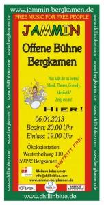 Einladung zur 9. offenen Bühne am 6. April in der Ökologiestation