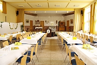 Saal des Martin-Luther-Hauses