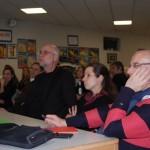 Gespannt verfolgten die Besucher die Diskussion über den Ausbau der Öko-Energie in der Region.