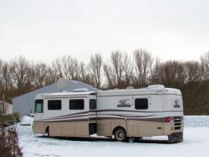 Selbst im Winter ist die Marina Rünthe für Reisende mit dem Wohnmobil eine begehrte Adresse.