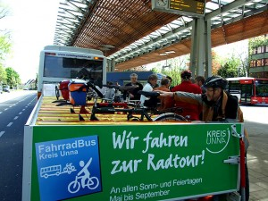 Der Fahrradbus des Kreises Unna ist ab 1. Mai wieder unterwegs.