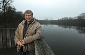 Klaus Nowack ist einer von drei  Landschaftswächtern  in Bergkamen.