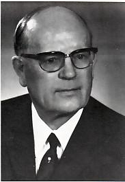 Bergkamens erster Stadtdirektor Alfred Gleisner
