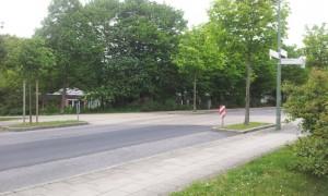 Aufpflasterung Gedächtnisstraße