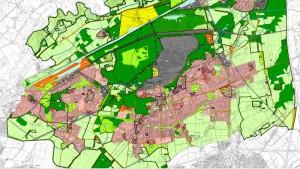 Ausschnitt aus dem neuen Flächennutzungsplan