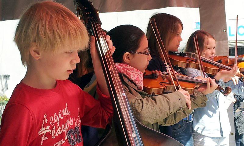 Jeki fördert junge Musiktalente in den Grundschulen. (Archiv-Bild)