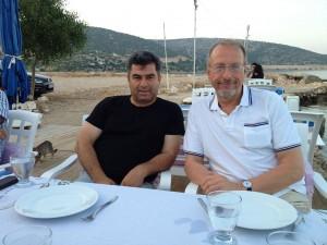 Yasar Acikbas (l.) und Roland Schäfer. Foto Privat