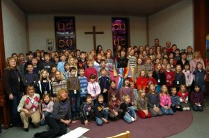 Die Kindermusicalprojekte, aber auch die Chöre der Friedenskirchengemeinde  haben in den Augen des Kirchenkreises Leuchtturmcharakter.