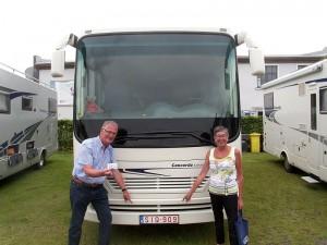 Rik Heynickx und Maritta Geypen aus Hamond / Belgien