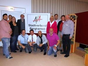 Der Bergkamener AfA-Vorstand bei seinem Besuch des Hermann-Görlitz-Zentrums der AWO.
