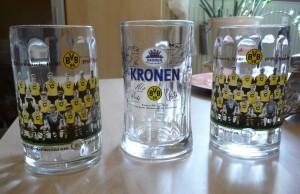 BVB-Bierkrüge