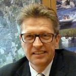 SPD-Stadtverbandsvorsitzender Bernd Schäfer (l.) und Bürgermeister Roland Schäfer