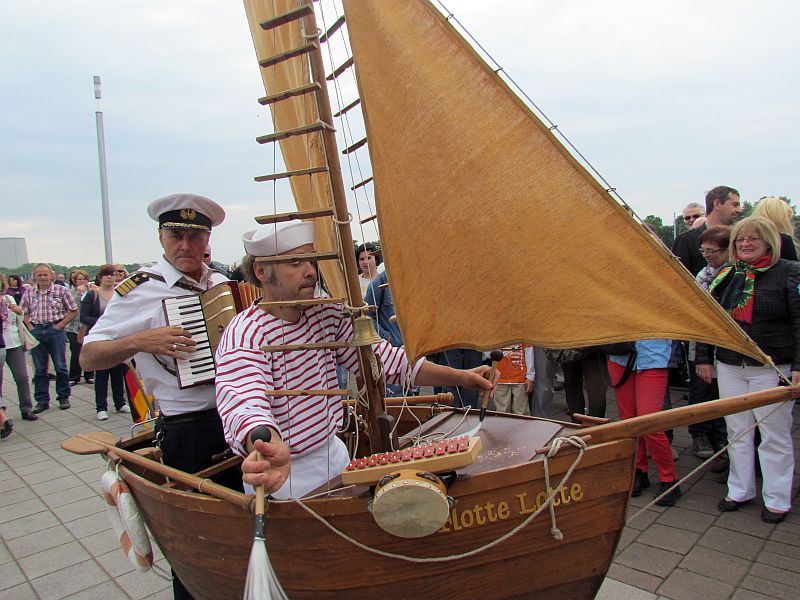Die Schlick Skipper sind auch beim Hafenfest 2015 dabei.