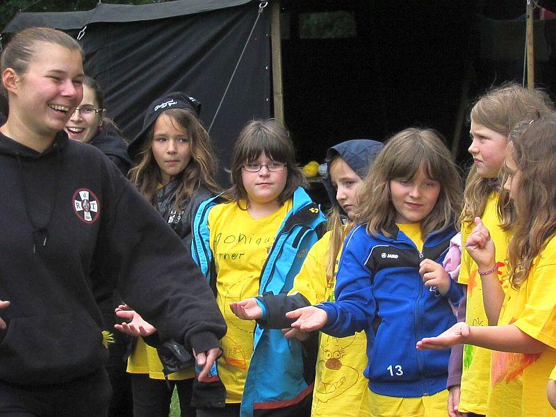 Im vergangenen Jahr fand das Kindercamp des Jugendamts erstmals auf dem Gelände des Pfadfinderstamms Pendragon mit großem Erfolg statt.