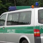 Die Polizei zeigte beim Hafenfest auch durch ihre Einsatzfahrzeuge Präsenz.