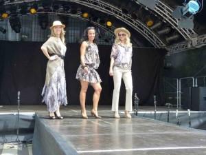 Die Steilmann-Modenschau gehört seit 2009 zum festen Bestandteil des Hafenfest-Programms
