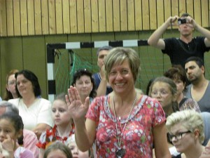 Brigitte Grothaus verabschidedet sich von der Jahnschule Oberaden.