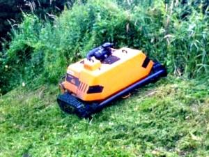 Lünener Mäh-Roboter im Einsatz in Bergkamen