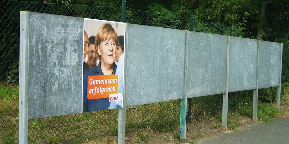 Für die Wahl wird schon mehr oder weniger heftig geworben. Foto Andreas Milk