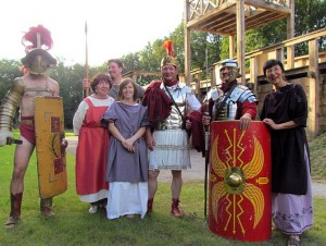 Das Stadtmuseum lässt beim Römerfest am 21. und 22. September im Römerpark Bergkamen die Antike wieder aufleben.