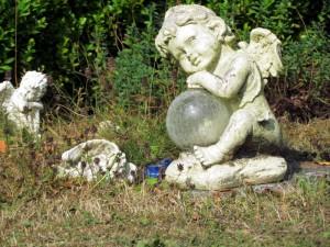 Grabstelle auf dem Schmetterlingsfeld