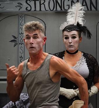 Das Bash Street Theatre spielt beim Kultursommer.