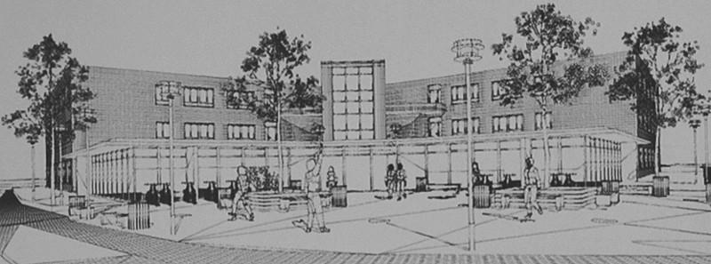 So könnte nach den Plänen des Architekten das Gesundheitshaus Bergkamen aussehen.