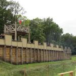 Holz-Erde-Mauer