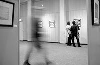 Eon Blick in die Fotoausstellung von Patrick Opierzynski. Foto: Dietmar Wäsche
