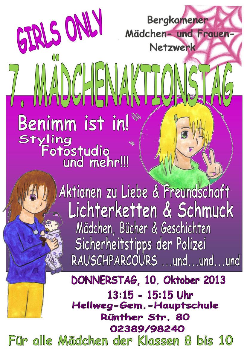 7.Mädchenaktionstag_Plakat 2013neu