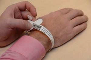 Patientenarmband