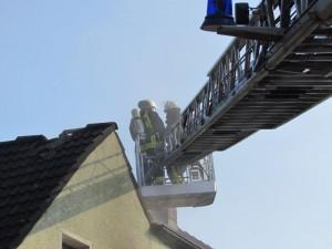 An der Hoeterstraße brannte am 7. Oktober ein Einfamilienhaus.
