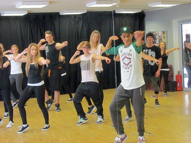Hip Hop und Street Dance gehört zur Angebotspalette der Bergkamener Jugendkunstschule.