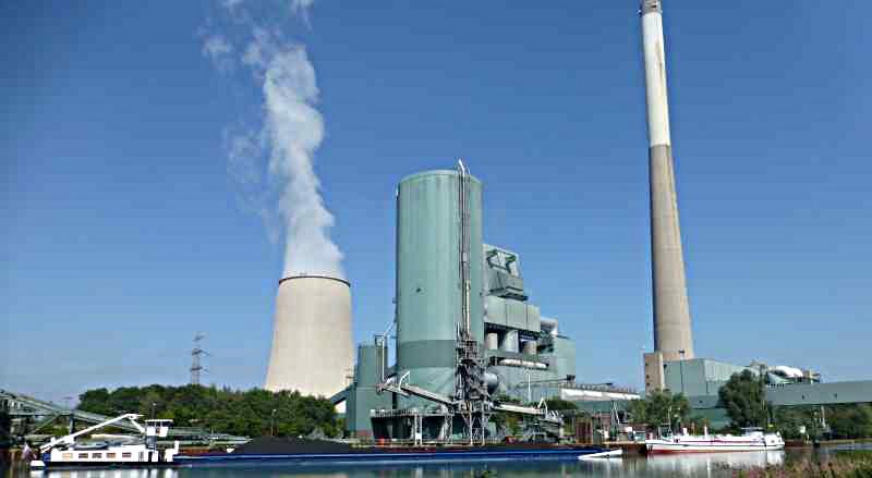 Das Kraftwerksgelände in Heil ist zurzeit der einzig denkbare Standort für ein neues Gewerbegebiet in Bergkamen.