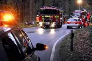 Während der Bergungsarbeiten war der Kleiweg für den Verrkehr gesperrt gewesen. Foto: Urich Bonke