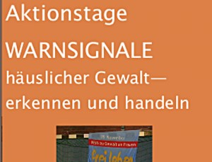 Flyer Warnsignale