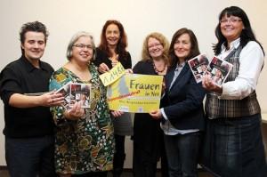 Freuten sich gemeinsam über die Spendensumme von 1.148 Euro (v.l.): André Stoltefuß, Karen Falkenberg, Petra Hartmann, Elke Markmann, Josefa Redzepi und Heike Gogolin-Schwering.