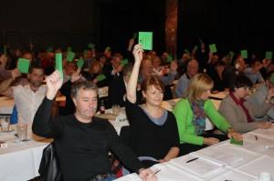 .Bergkamener Delegierten auf dem UB-Parteitag der SPD