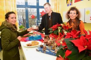 Entspannen konnten sich alle, die auf der Suche nach der richtigen Entscheidung waren, im weihnachtlichen Oberstufencafé.