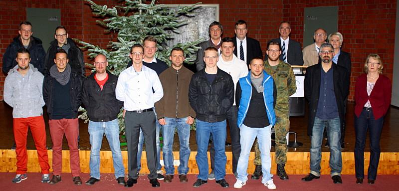 Das Bildungszentrums Bergkamen von TÜV NORD Bildung bereitet Soldaten auf einen Zivilberuf vor.