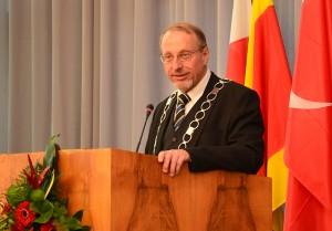 Hatte viel zu sagen: Bürgermeister Roland Schäfer.