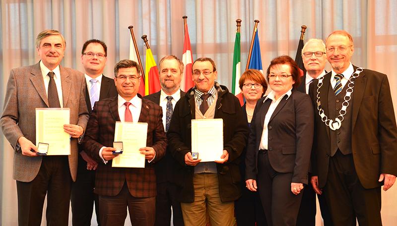 Geballte Städtepartnerschaft und geballtes Engagement für die Verständigung auf einen Blick.